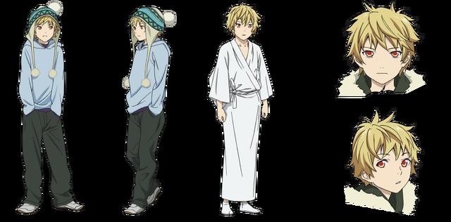 Файл:Character Design - Yukine.png