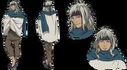 Kugaha anime design