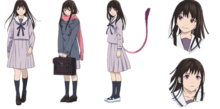 Character Design - Hiyori