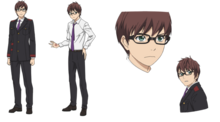 Character Design - Kazuma