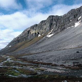 Dolina Ymerdalen na najbardziej na południe wysuniętej wyspie <a class=