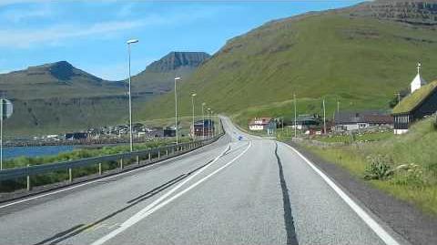 FAROE ISLANDS - Driving in Streymoy
