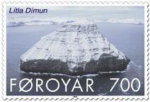 Faroe stamp 477 litla dimun