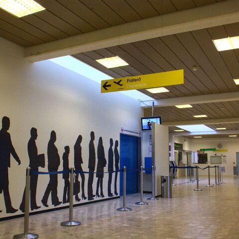 Stary terminal pasażerski lotniska