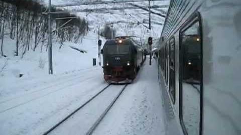 Malmbanan from Kiruna to Narvik - February 2012