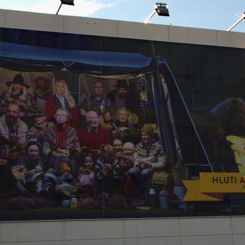 Banner reklamowy w centrum <a class=