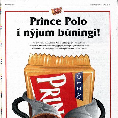 Reklama w islandzkim <a class=