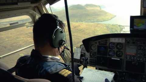 Faroe Islands helicopter