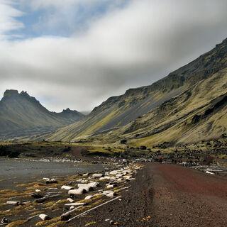 Droga na zachodnim wybrzeżu wyspy <a href=