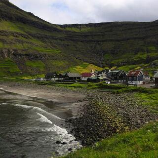 Najbardziej na północ wysunięta osada na Streymoy - przepięknie położone <a href=
