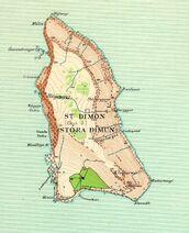 Stóra Dimun - mapa