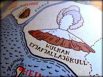 Eyjafjallajökull - mapka