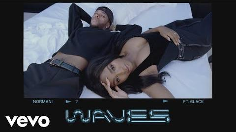 Normani & 6LACK - Waves (Audio)-0