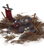Ancient battleground icon