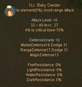 Baby Dander Desc