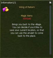 Wing of Return