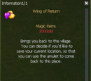Wing of Return