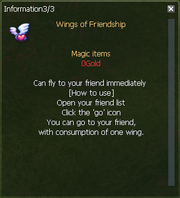 Wings of Friendship