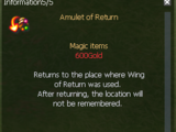 Amulet of Return