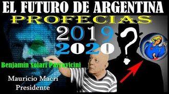 Parravicini y el futuro de ARGENTINA profecias del HOMBRE GRIS Y EL HOMBRE HUMILDE 2019 2020