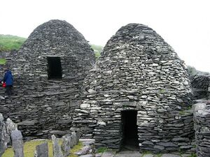 Skellig Michael - cell E and F
