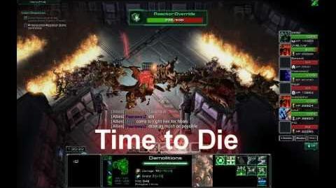 NOTD StarCraft - Demolitions Gameplay