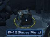P-45 Gauss Pistol