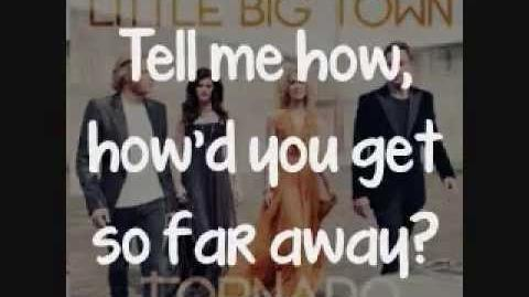 Little Big Town - On Your Side of the Bed Lyrics On Screen