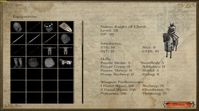 Knight of Christ