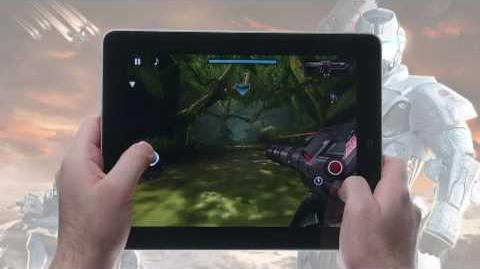 N.O.V.A. Near Orbit Vanguard Alliance HD for iPad hands-on video