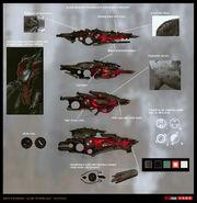 Alien guns by sobaku chiuchiu-d4flgr7