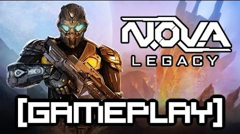 N.O.V.A. Legacy for Java Gameplay - Level 1