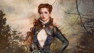 Women fantasy redheads fantasy art digital art artwork portraits 1920x1080