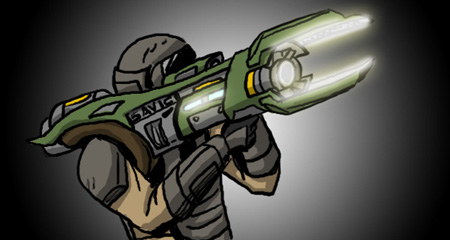 Tech weapons starfire cannon