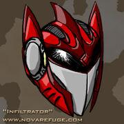 Portrait shadowcat helmet