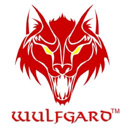 Wulfgard logo with title