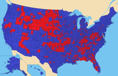 Map by County, 2020