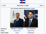 United States presidential election in Colorado, 2020