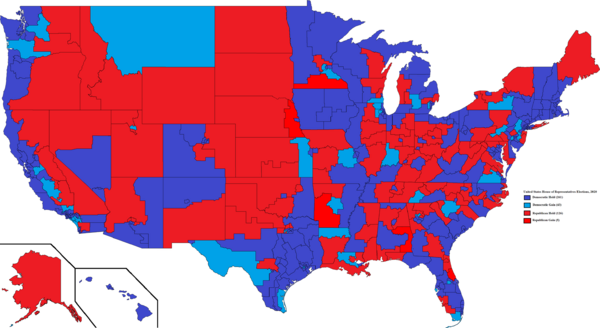 United States House of Representatives elections, 2020