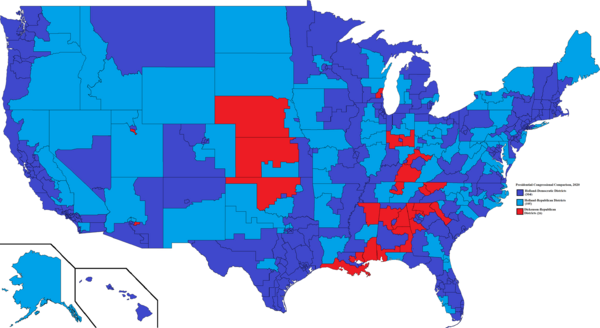 United States Election Results, Comparison, 2020
