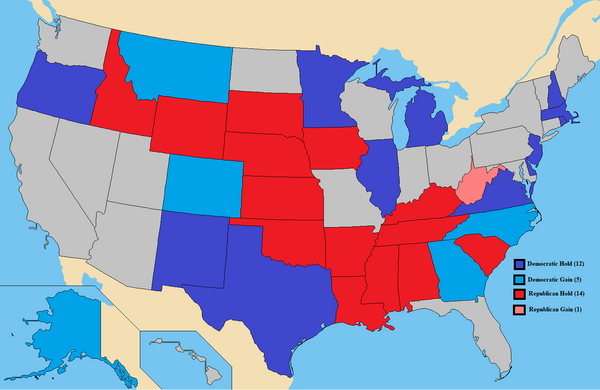 United States Senate election results, 2020