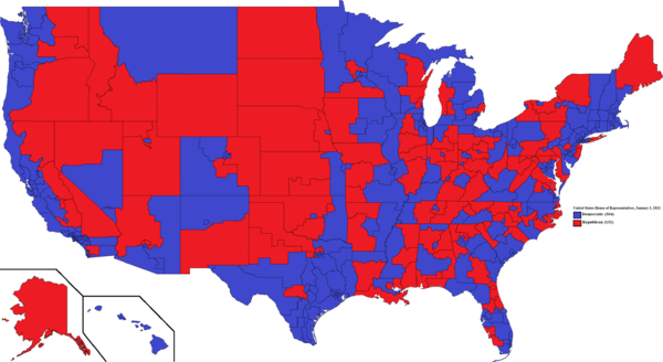 United States House of Representatives, January 3, 2021