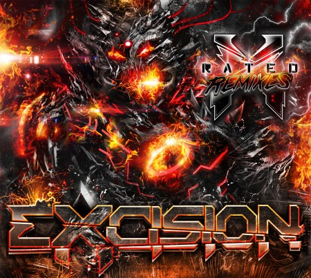 File:Excision - X Rated Remixes Album Cover.jpeg