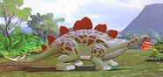 Lego jurassic world stegosaurus by sideswipe217-d8y4j9g