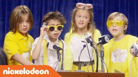 Nicky, Ricky, Dicky & Dawn Lemonade Stand Music Video Nick