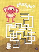Labyrint fantorangen