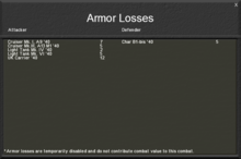 Armorlosses