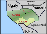 Politic map