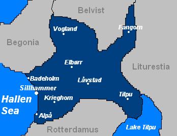 Effiland map