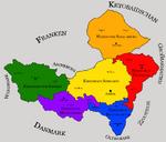 Karte Kaisertum Wieserreich